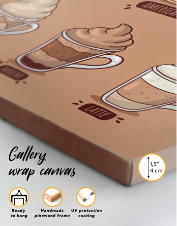 Coffee Types Collection Canvas Wall Art - image 3