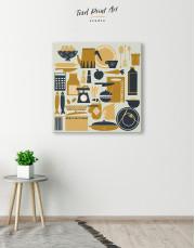 Beautiful Kitchenware Canvas Wall Art - Image 2
