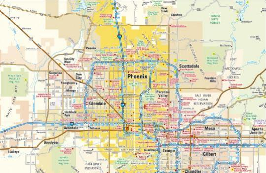 Custom city map - Image 1