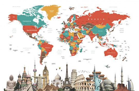 Personalized travel map - Image 0