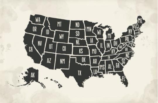 States map - Image 2