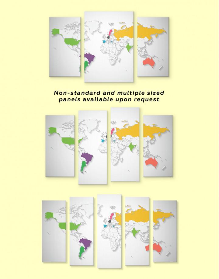 Unusual World Map
