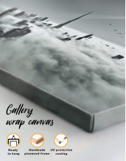 Dubai Cityscape Canvas Wall Art - Image 3
