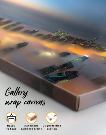 Dubai Sunset Canvas Wall Art - image 3