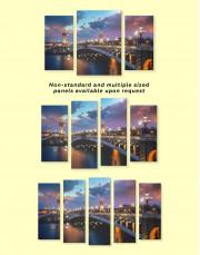 Paris Bridge Canvas Wall Art - Image 1