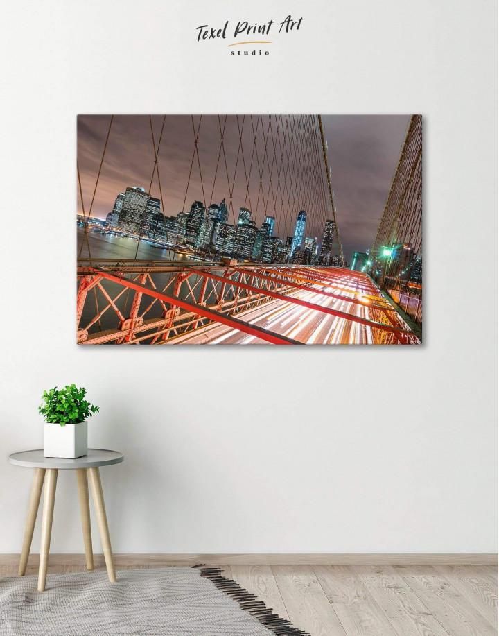 New York Brooklyn Bridge Canvas Wall Art