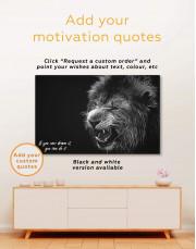 Lion  Canvas Wall Art - Image 4