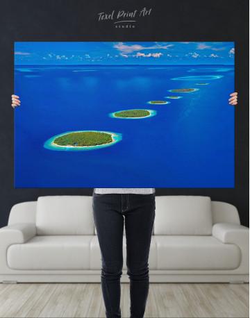 Maldives Islands Canvas Wall Art - image 7