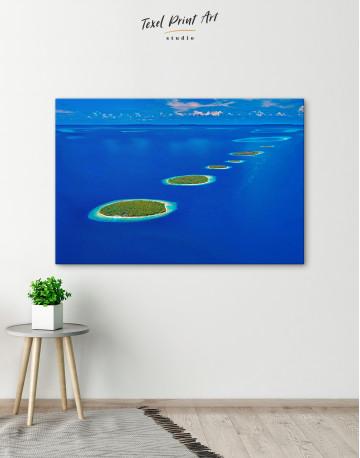 Maldives Islands Canvas Wall Art - image 6