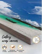 Panoramic Sea View Canvas Wall Art - Image 4