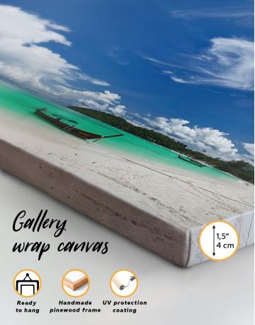 Panoramic Sea View Canvas Wall Art - image 1