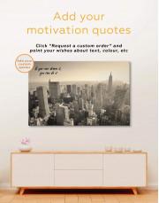 New York Cityscape  Canvas Wall Art - Image 1