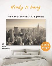 New York Cityscape  Canvas Wall Art - Image 0