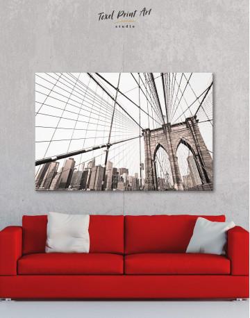 Brooklyn Bridge New York Canvas Wall Art