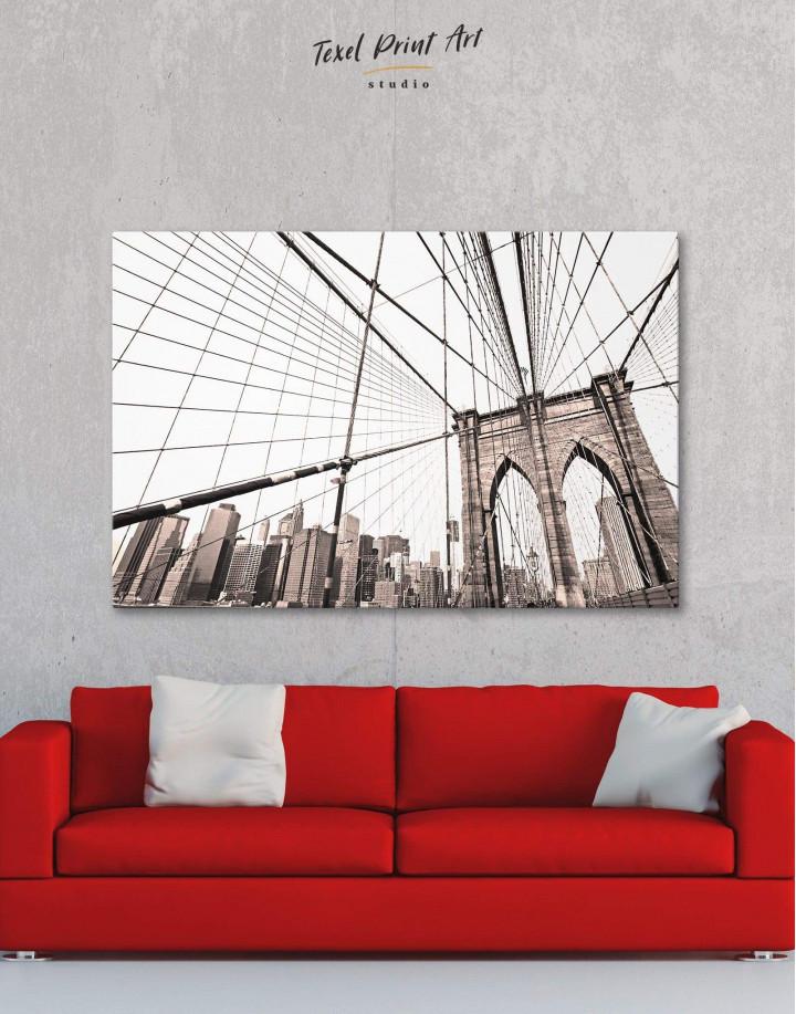 Brooklyn Bridge New York Canvas Wall Art - Image 0