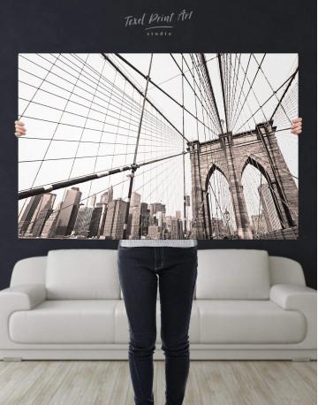 Brooklyn Bridge New York Canvas Wall Art - image 4