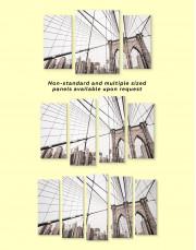Brooklyn Bridge New York Canvas Wall Art - Image 2