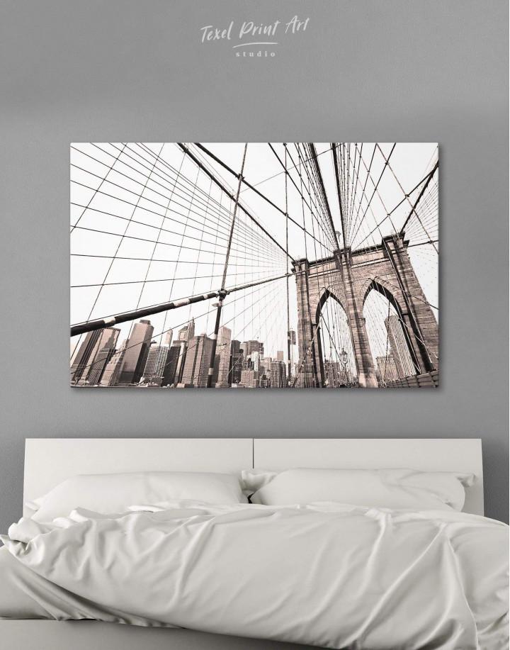 Brooklyn Bridge New York Canvas Wall Art - Image 5