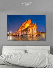 Wat Suthat Bangkok Canvas Wall Art
