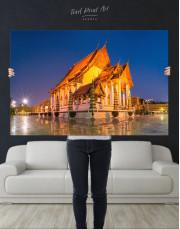Wat Suthat Bangkok Canvas Wall Art - Image 2