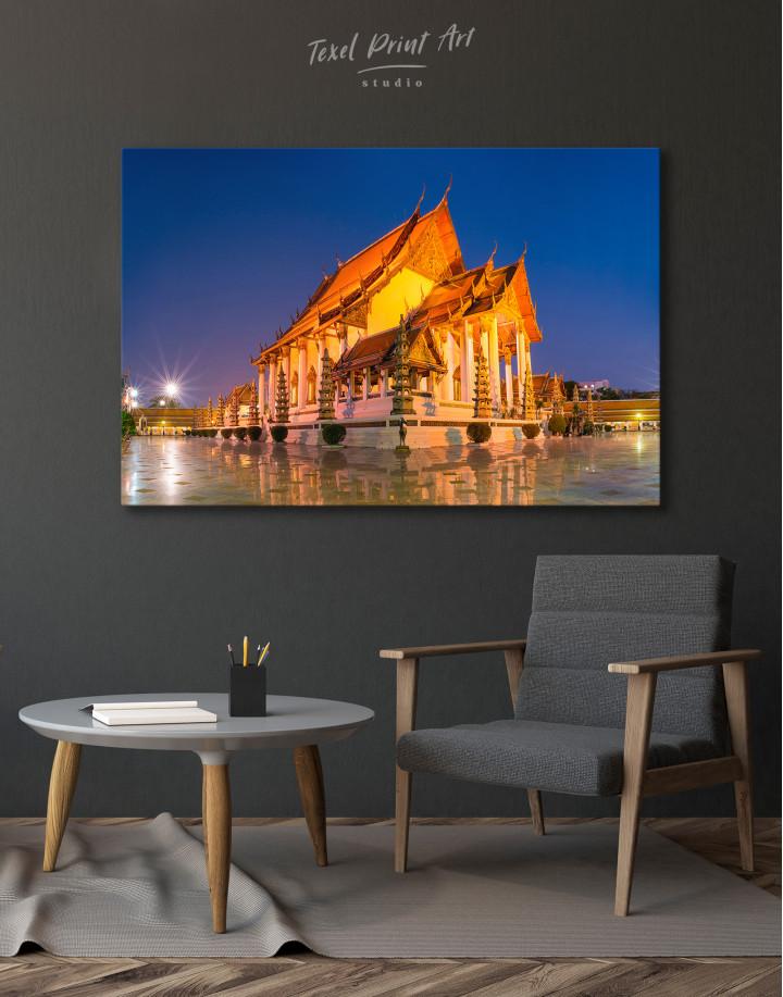 Wat Suthat Bangkok Canvas Wall Art - Image 3