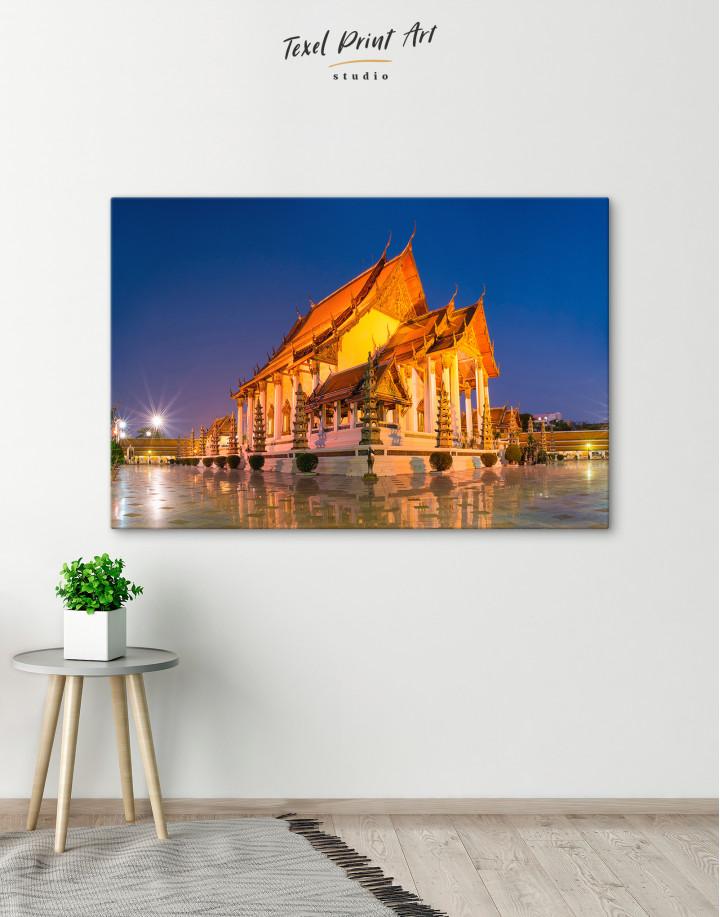 Wat Suthat Bangkok Canvas Wall Art - Image 1