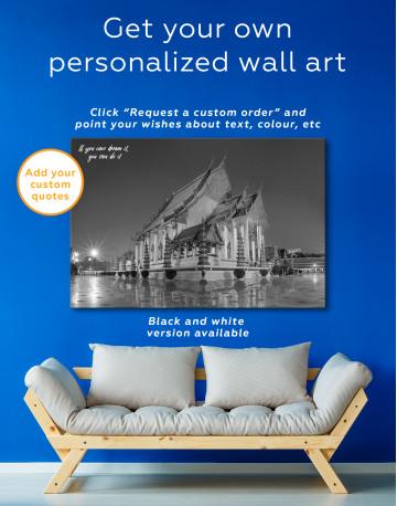 Wat Suthat Bangkok Canvas Wall Art - image 6