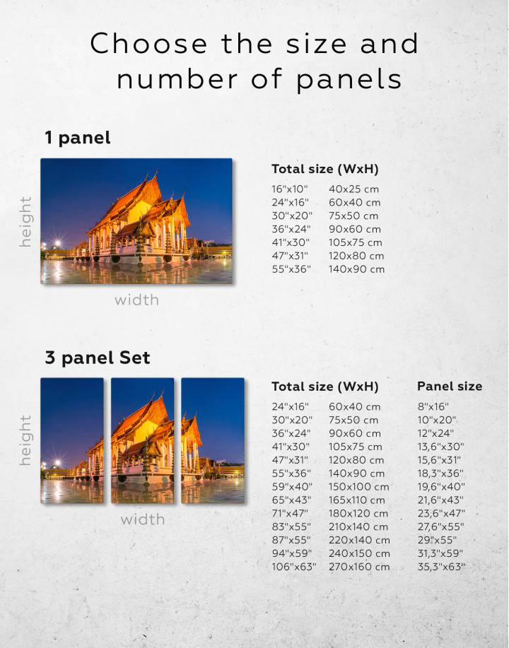 Wat Suthat Bangkok Canvas Wall Art - Image 7