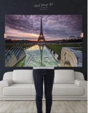 Evening Paris Canvas Wall Art - Image 2