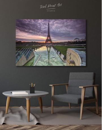 Evening Paris Canvas Wall Art
