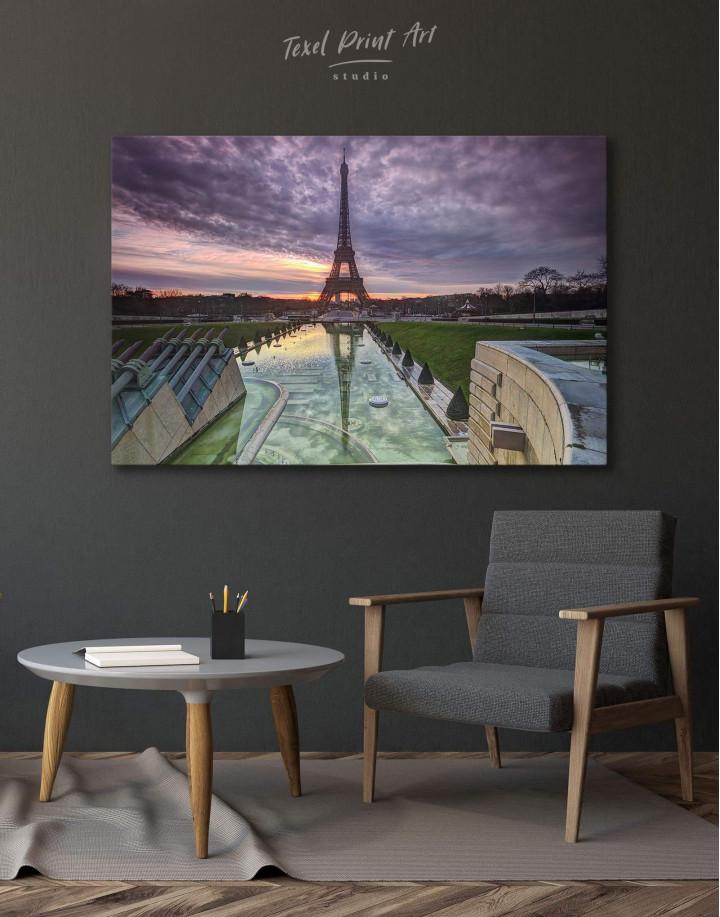 Evening Paris Canvas Wall Art - Image 0
