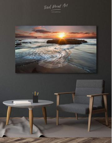 Coastal Beach Canvas Wall Art - image 6