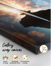 Ocean Sunrise Landscape Canvas Wall Art - Image 5