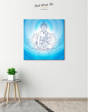 Buddha Yoga Canvas Wall Art - image 1