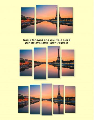 Scenic Eiffel Tower Paris Canvas Wall Art - image 4