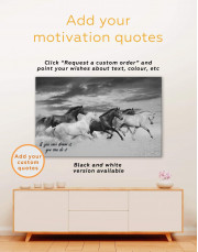 Running Horses Canvas Wall Art - Image 5
