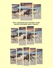 Running Horses Canvas Wall Art - Image 4