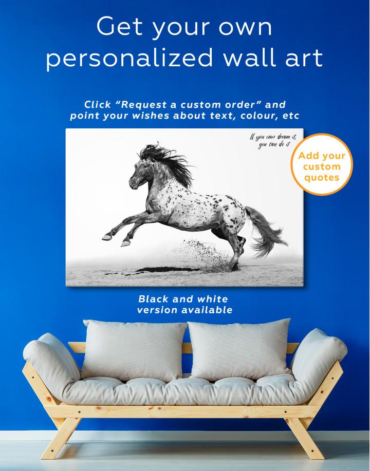 Appaloosa Horse Canvas Wall Art - Image 9