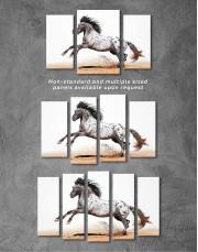 Appaloosa Horse Canvas Wall Art - Image 3