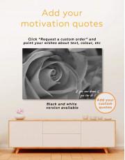 Multicolor Rose Canvas Wall Art - Image 1
