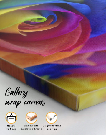 Multicolor Rose Canvas Wall Art - image 4