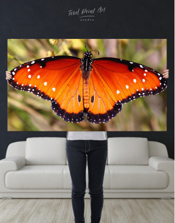 Butterfly with Spread Wings Canvas Wall Art - image 7