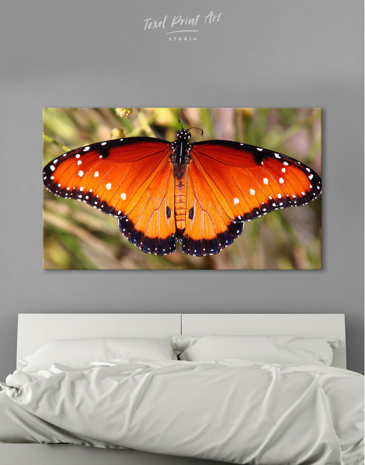 Butterfly with Spread Wings Canvas Wall Art - Image 9