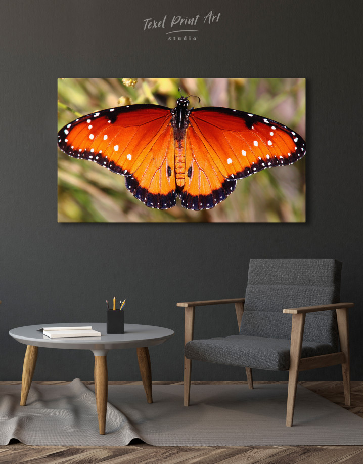 Butterfly with Spread Wings Canvas Wall Art - Image 8