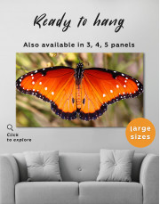 Butterfly with Spread Wings Canvas Wall Art - Image 6