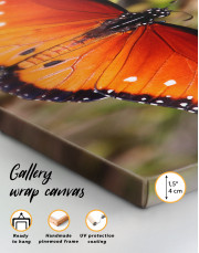 Butterfly with Spread Wings Canvas Wall Art - Image 5
