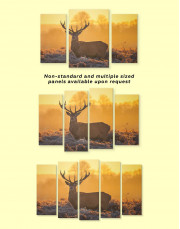 Wild Stag Canvas Wall Art - Image 2