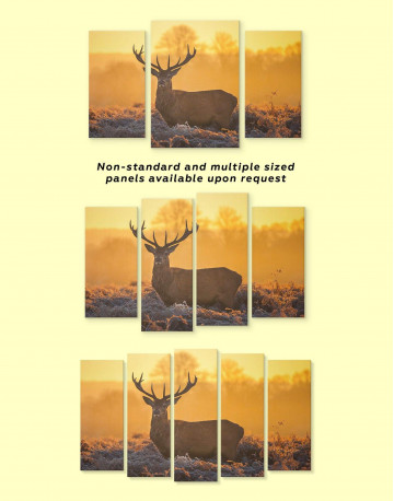 Wild Stag Canvas Wall Art - image 3