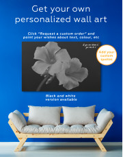 Yellow Primrose Canvas Wall Art - Image 2