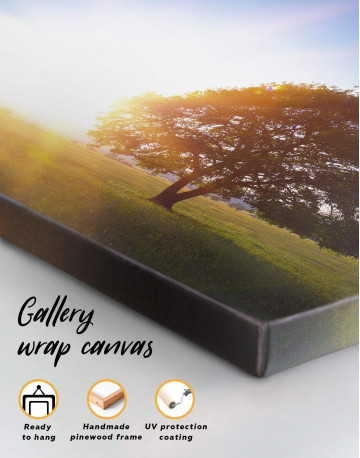 Nature landscape with Tree Canvas Wall Art - image 1